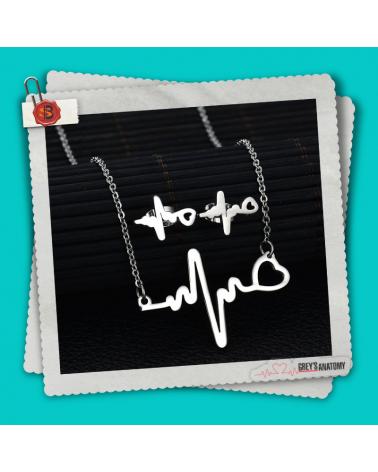 Комплект колие и обеци Ритъма на сърцето, Анатомията на Грей