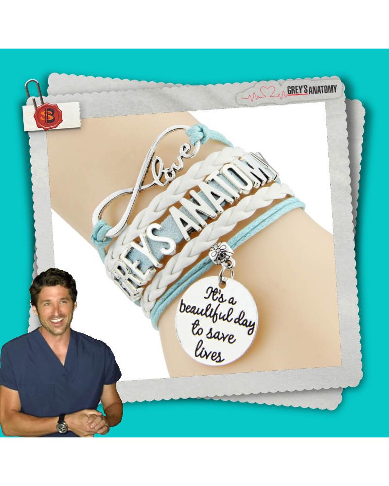 Bracelet leather Grey's Anatomy