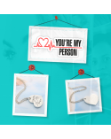 Necklace You are my person heart, Grey's Anatomy
