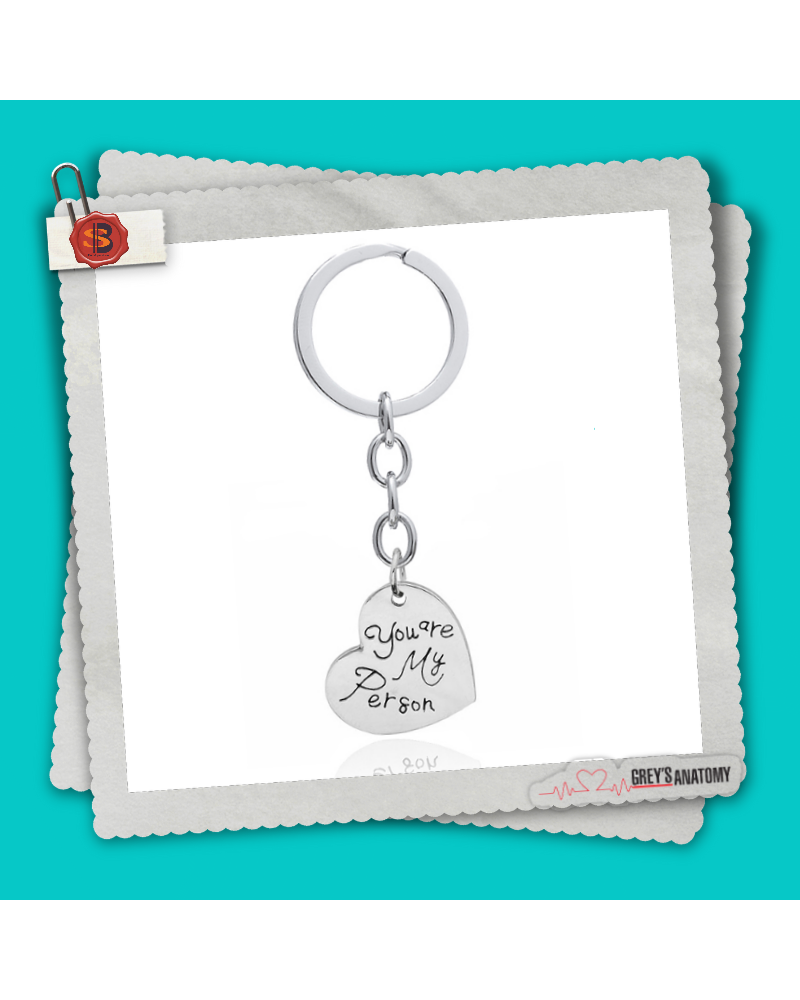 Keychain You are my person heart, Grey's Anatomy