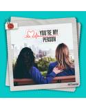 """Ключодържател сърце """"You are my person"""", Анатомията на Грей"""