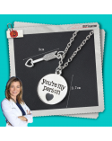 Necklace You are my person with heart arrow, Grey's Anatomy