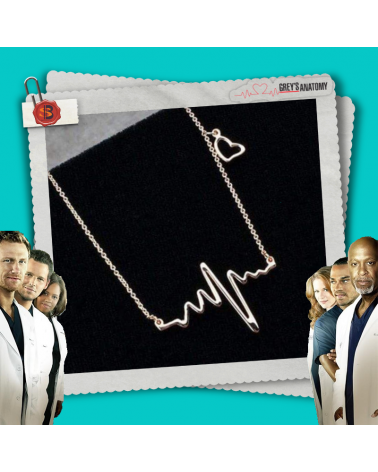 Колие сребристо Heartbeat, Анатомията на Грей