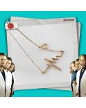Necklace Heartbeat golden, Grey's Anatomy