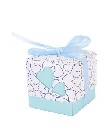 Little gift box light blue