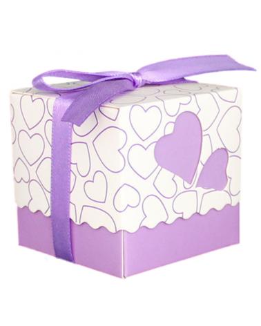 Little gift box purple
