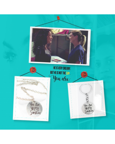 Necklace You are my sunshine, Grey's Anatomy