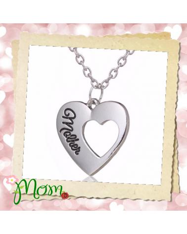 Колие сърце за Мама