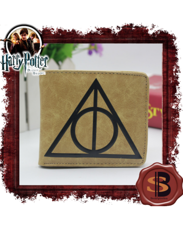 Leather Wallet The Deathly Hallows, Harry Potter