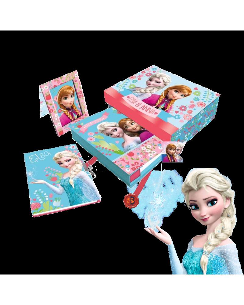 Подаръчен комплект с дневник Замръзналото кралство