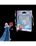 Детско колие Елза в метална кутийка сърце, Замръзналото кралство