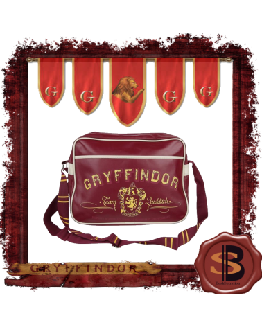 Harry Potter Gryffindor Messenger Bag