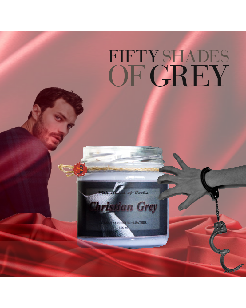 Scented Candle CHRISTIAN GREY