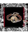 Leather Bracelet Rabbit watch, Alice in wonderland