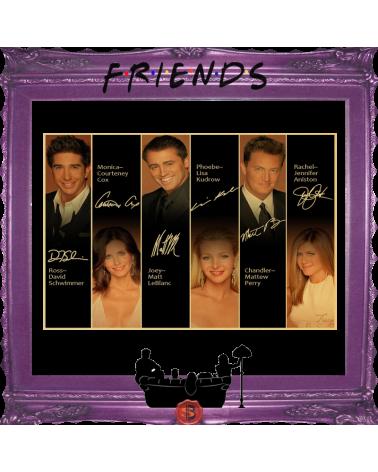 Плакат с автографи Приятели