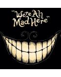 Ключодържател We are all mad here, Алиса в страната на чудесата