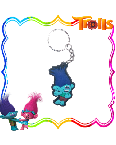Pvc Key Chain Branch, Trolls