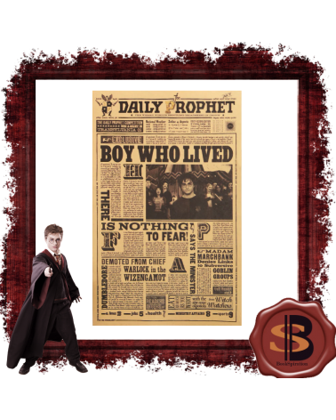 The Boy Who Lived Harry Potter Poster