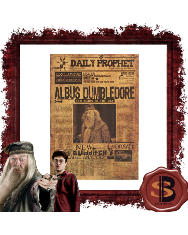 Dumbledor Harry Potter Poster