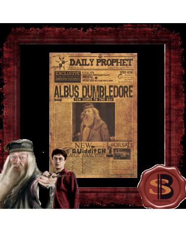 """Плакат """"Албус Дъмбълдор"""", Хари Потър"""
