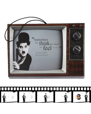 Калъф за паспорт Чарли Чаплин