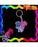 Pvc Key Chain Poppy & Branch, Trolls