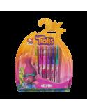 6 gel pens Trolls