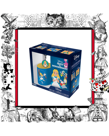Gift set Alice in Wonderland