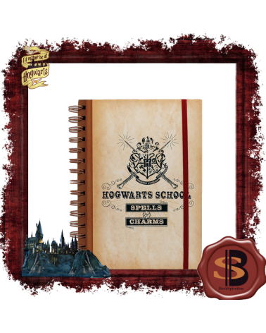Harry Potter Notebook Hogwarts School