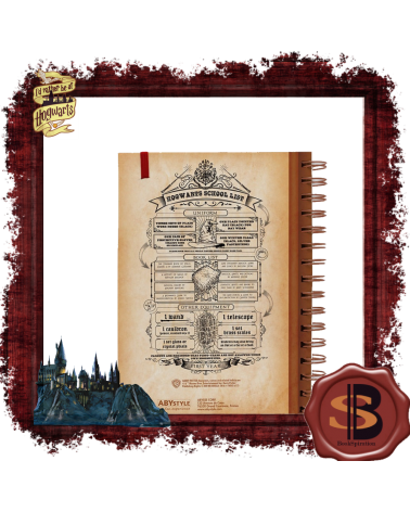Harry Potter Notebook Hogwarts School