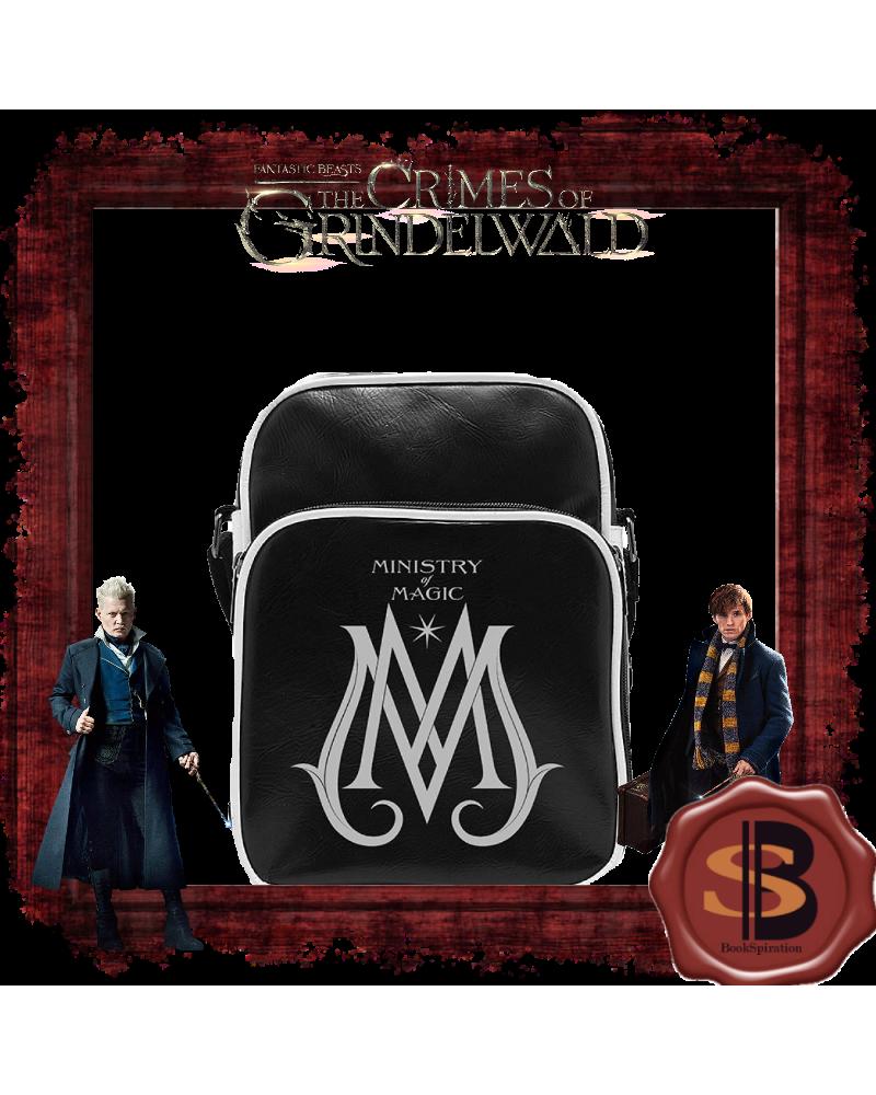 Черна кожена чанта за рамо Ministry of magic, Фантастичните животни
