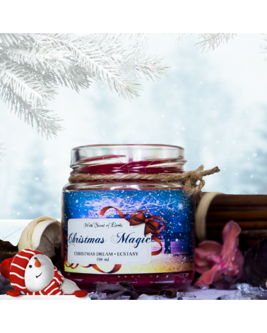 Scented Candle Christmas magic