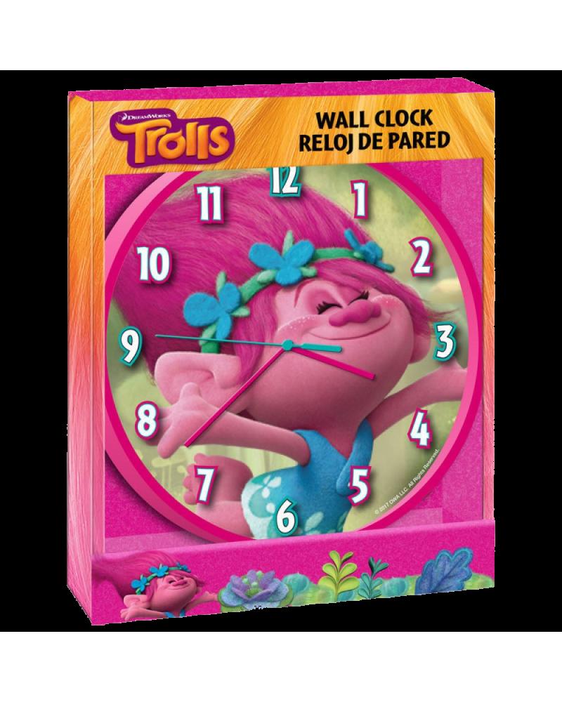 Детски стенен часовник Попи, Тролчетата