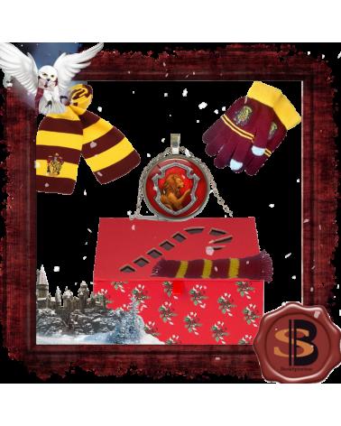 Коледен комплект 4 части Грифиндор, Хари Потър