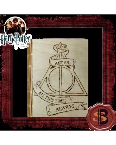 Дървена кутия Даровете на смъртта с аксесоари, Хари Потър