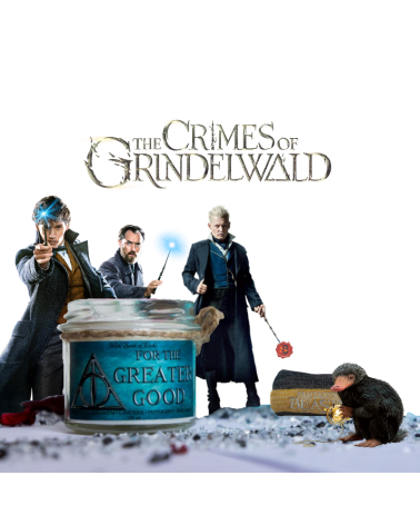 Scented Candle For The Greater Good Crimes of Grindelwald