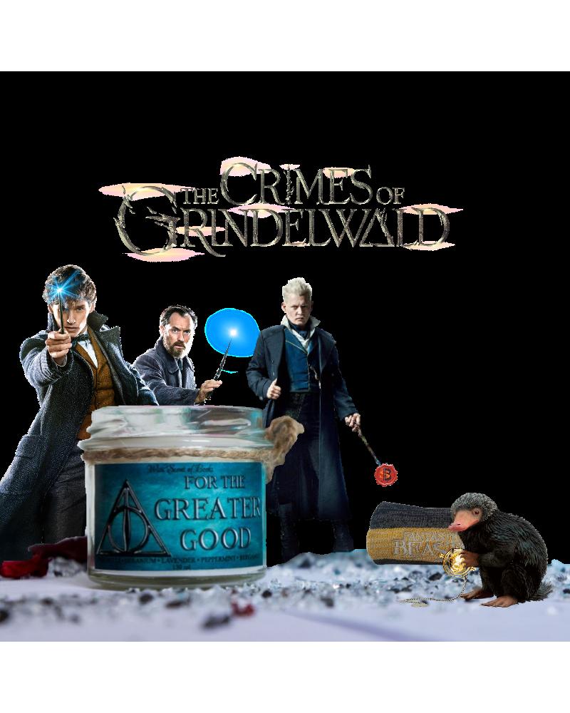 Ароматна свещ  For The Greater Good, Престъпленията на Гринделвалд