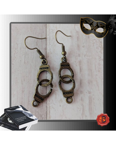Handcuffs earrings 50 shades of Grey