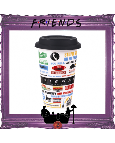 Friends Travel Ceramic Mug