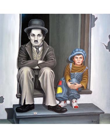 Чарли Чаплин и Хлапето / Григор Велев