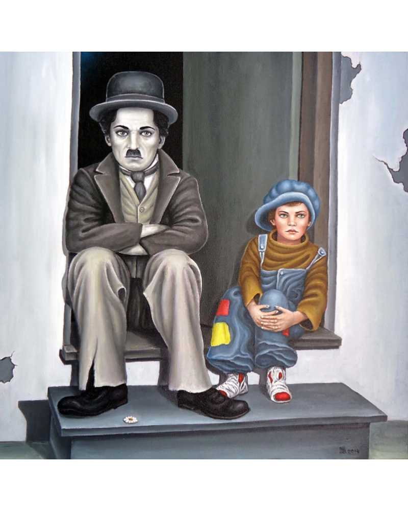 Charlie Chaplin and The Kid / Grigor Velev