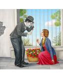 Чарли Чаплин и Дамата с розите / Григор Велев