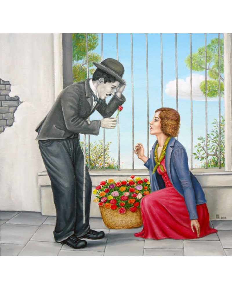 Charlie Chaplin and the Lady / Grigor Velev
