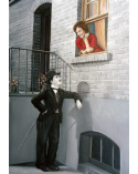 Charlie Chaplin and Lady / Grigor Velev