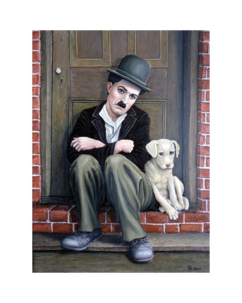Чарли Чаплин - Кучешки живот / Григор Велев