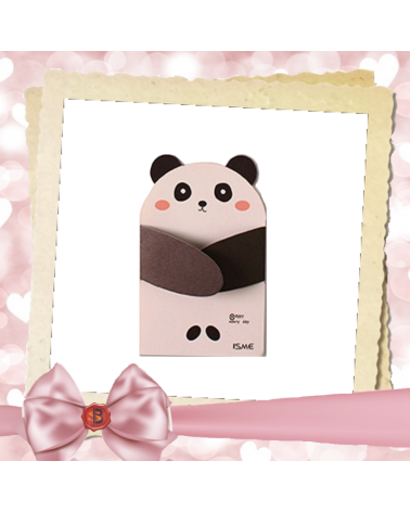 Children's greeting card panda