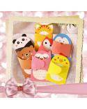 Children's greeting card teddy bear