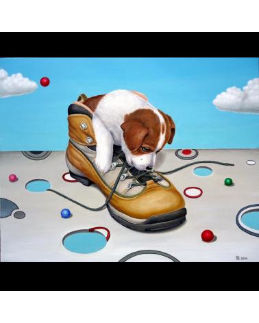 Куче в обувка / Григор Велев