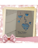 Kraft card for someone special Best Wishes