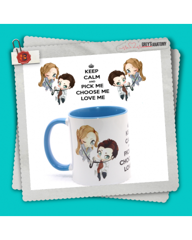 Mug Pick me Choose me Love me Grey's Anatomy